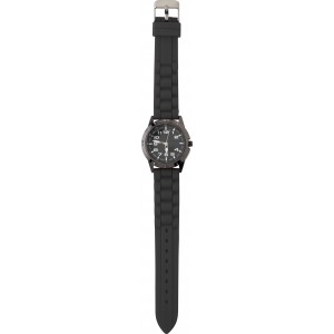Small, alloy and mineral glass watch for women, Black (6555-01)