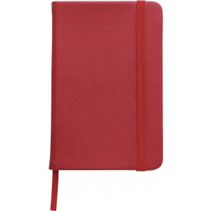 Soft feel notebook (approx. A6), Red (2889-08)