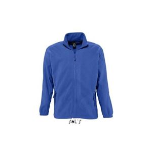 Sols North Fleece Jacket, Royal Blue, 2XL (SO55000RO)