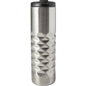 Stainless steel thermos mug (460ml)., Silver (7789-32)