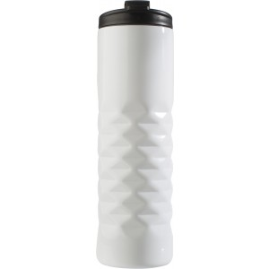 Stainless steel thermos mug (460ml)., White (7789-02)