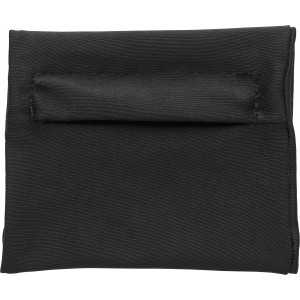 Stretchable polyester wrist wallet, Black (7608-01)