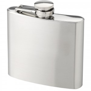Tennessee hip flask, grey, 9,2 x 2,2 x 10,9 cm (10020700)