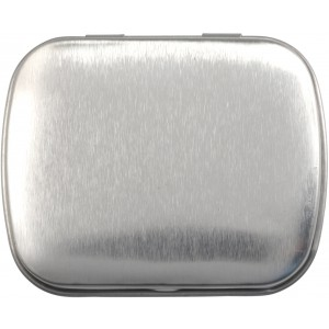 Tin case with sugar free mints, Silver (5248-32)
