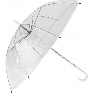 Transparent umbrella., White (6487-02CD)