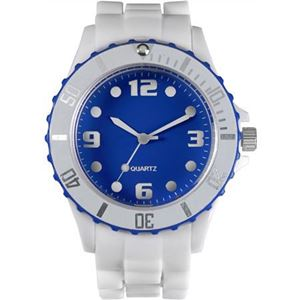 Watch with plastic case. (3071-187)